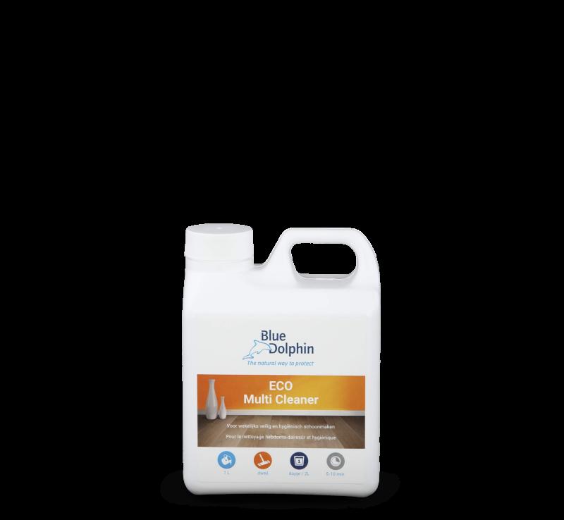 Eco Multi Cleaner is een PH neutrale ontvettende reiniger voor iedere houten vloer.