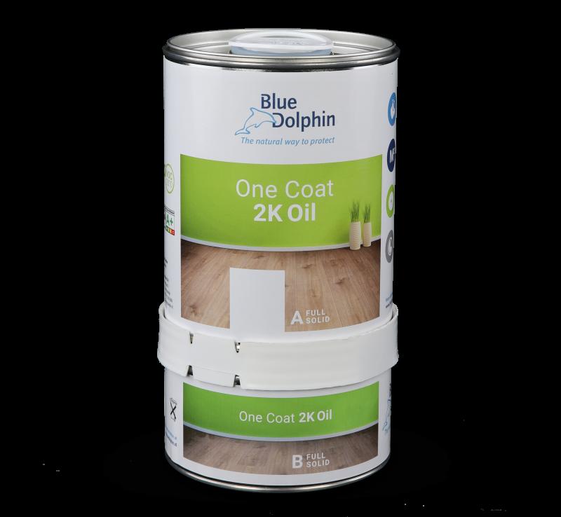 Wilt u uw houten vloer mooi licht houden? Behandel uw vloer met de One Coat 2K Oil Bianco voor een onbehandelde look.